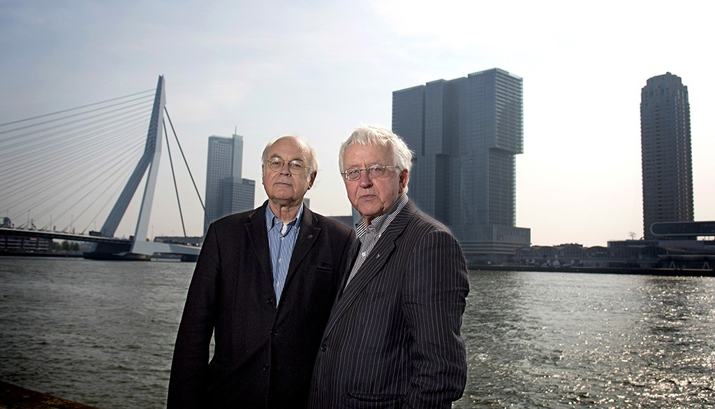 Jan Oudenaarden en Rien Vroegindeweij - Het Rotterdammologisch Instituut