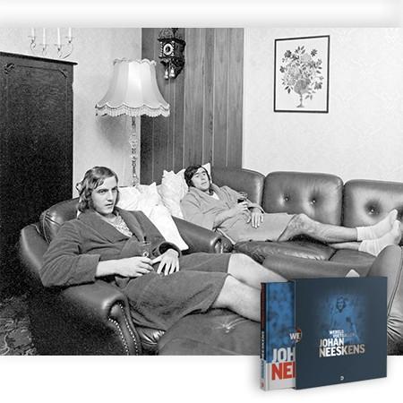 Johan Neeskens boek - Vader en zoon