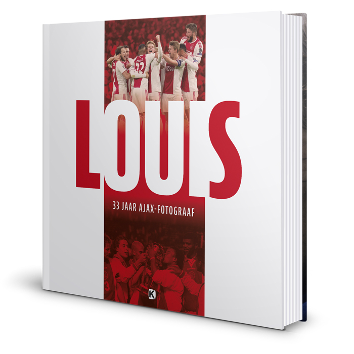 boek LOUIS - 33 jaar huisfotograaf Ajax