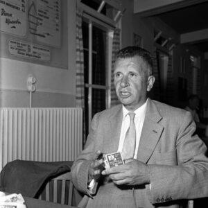 Cor Kieboom, de Bridgende Feyenoord-voorzitter.