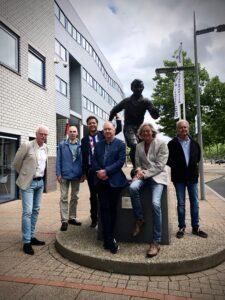Auteurscollectief van het jubileumboek '100 jaar sc Heerenveen'